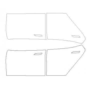 2019 TESLA MODEL S Full Doors (wrapped edge on open side)