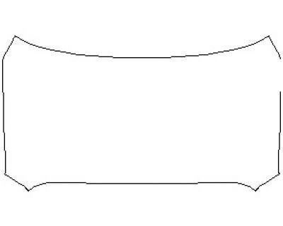2021 TOYOTA TUNDRA LIMITED FULL HOOD KIT (WRAPPED EDGES)