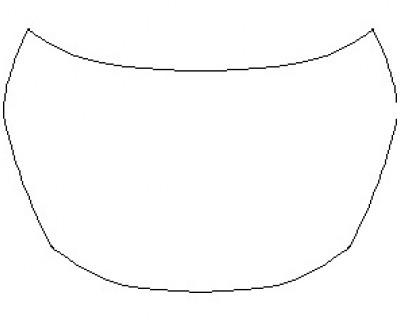 2021 NISSAN MURANO PLATINUM FULL HOOD KIT (WRAPPED EDGES)