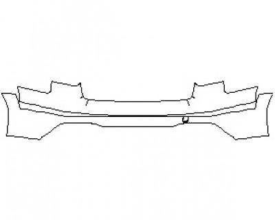 2021 AUDI A4 ALLROAD PRESTIGE - WITH FULL PAINT PACKAGE REAR BUMPER KIT