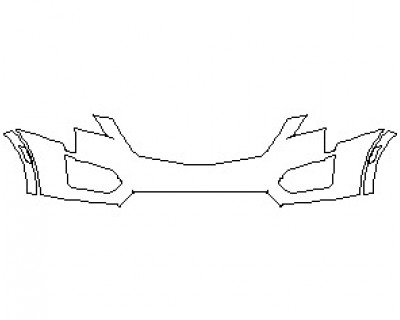 2021 CADILLAC XT5 BASE BUMPER KIT