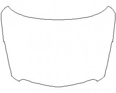 2021 CADILLAC XT5 BASE FULL HOOD KIT (WRAPPED EDGES)