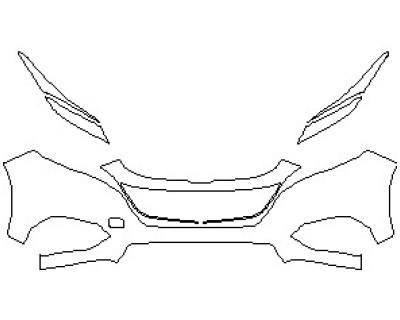 2021 HONDA HR-V EX-L BUMPER KIT