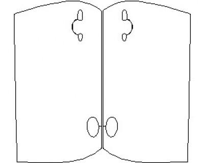 2021 MINI CONVERTIBLE COOPER DOORS