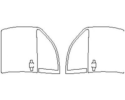 2021 TOYOTA TUNDRA TRD PRO DOORS FRONT