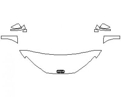 2021 AUDI R8 V10 SPYDER HOOD KIT (WRAPPED EDGES)