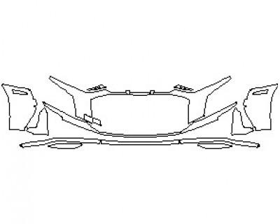 2021 AUDI R8 V10 SPYDER BUMPER KIT