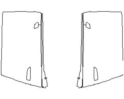 2021 AUDI R8 V10 SPYDER DOORS