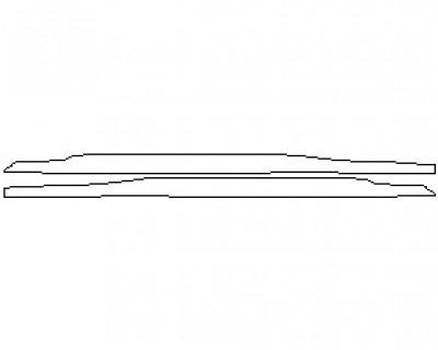 2021 MCLAREN 720S LUXURY COUPE INNER REAR QUARTER PANEL