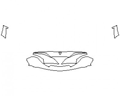 2021 MCLAREN 720S BASE COUPE LOWER SKIRT WITH CENTER CAMERA
