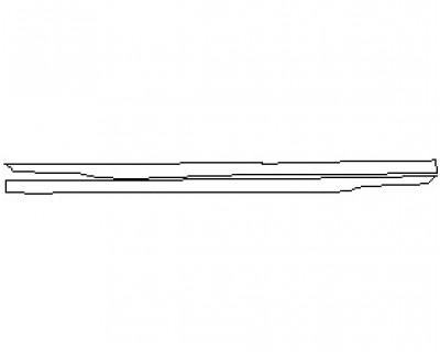2021 MCLAREN 720S LUXURY COUPE INNER REAR QUARTER PANEL WITH CARBON FIBER