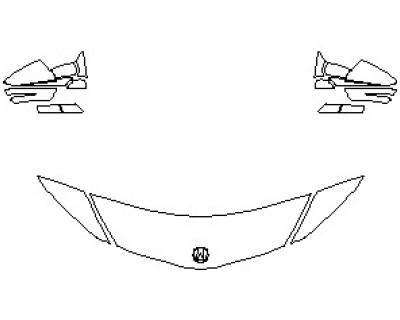 2021 ACURA NSX HOOD KIT (18 INCH)