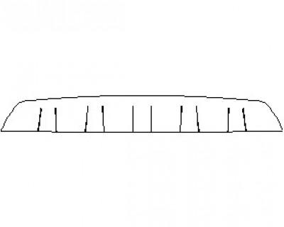 2021 BENTLEY BENTAYGA SPEED BUMPER KIT LOWER