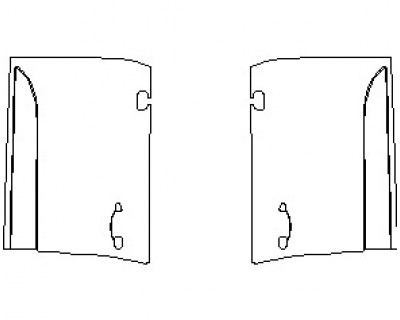 2019 PORSCHE MACAN S  DOORS FRONT