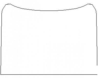 2021 TOYOTA LAND CRUISER FULL HOOD BULK (WRAPPED EDGES) PATTERN