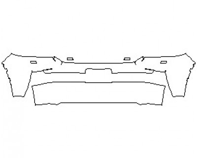 2021 TOYOTA LAND CRUISER BUMPER KIT WITH WASHERS