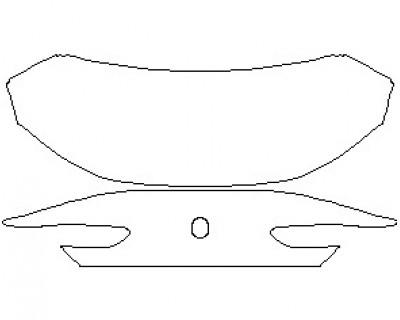 2021 BMW 8 SERIES M850I GRAN COUPE REAR DECK LID