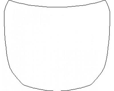 2021 MERCEDES AMG GT 53 4 DOOR COUPE FULL HOOD KIT