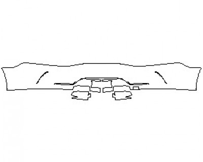 2021 MERCEDES AMG GT 53 4 DOOR COUPE REAR BUMPER KIT