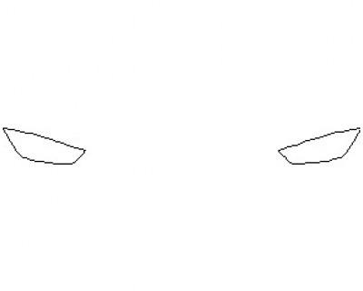 2021 MERCEDES AMG GT 53 4 DOOR COUPE LIGHTS
