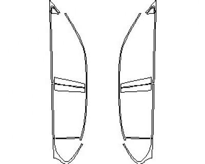 2020 LEXUS GS-F  WINDOW TRIM