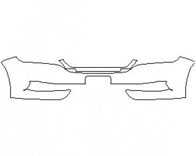 2021 CHEVROLET IMPALA LS BUMPER KIT WITH PLATE