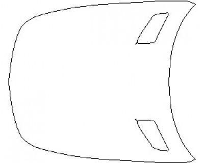 2021 MERCEDES AMG GT R PRO COUPE FULL HOOD KIT