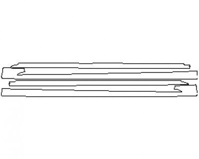 2021 LEXUS LS F-SPORT ROCKER PANELS