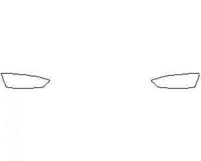 2022 AUDI RS5 COUPE REAR BUMPER KIT