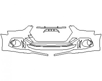 2022 AUDI RS5 COUPE BUMPER KIT