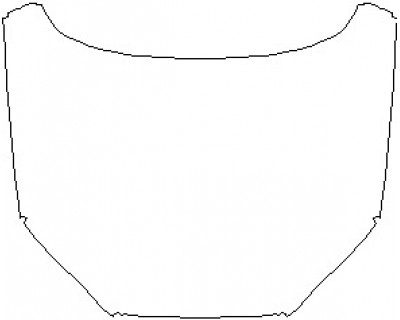 2022 AUDI RS5 COUPE HOOD 18 INCH NO WRAPPED EDGES