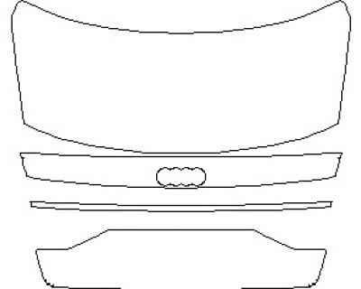 2021 AUDI A8 L WITH SPORT EXTERIOR STYLING REAR DECK LID