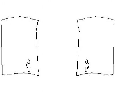 2021 NISSAN MAXIMA PLATINUM DOORS FRONT