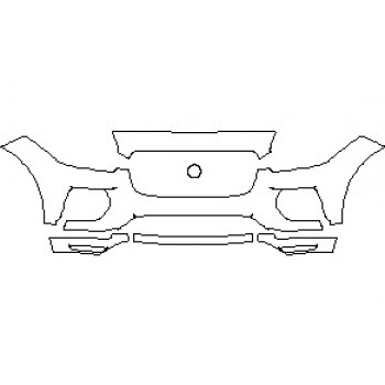 2021 JAGUAR E-PACE R-DYNAMIC S BUMPER KIT