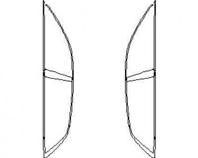 2022 AUDI RSQ8 WINDOW TRIM
