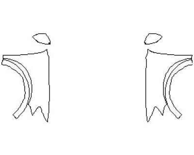 2021 AUDI RSQ8 FULL FENDERS (WRAPPED EDGES)