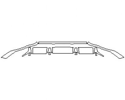 2021 AUDI RSQ8 LOWER REAR BUMPER KIT