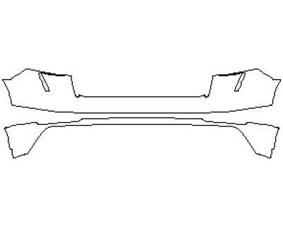 2021 AUDI RSQ8 REAR BUMPER KIT