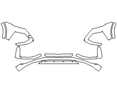 2021 AUDI RSQ8 BUMPER KIT