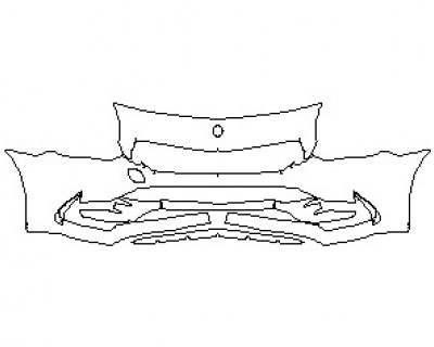 2020 MERCEDES SLC ROADSTER AMG SLC43 BUMPER