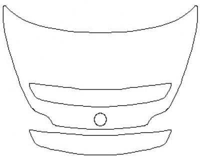 2021 MERCEDES AMG GT ROADSTER REAR DECK LID