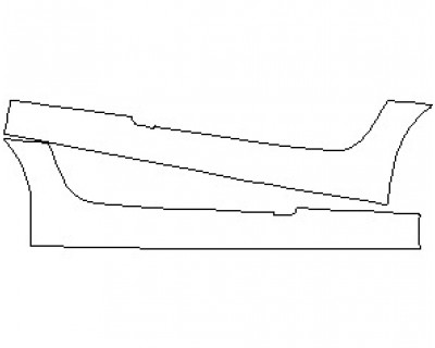 2021 MERCEDES AMG GT ROADSTER ROCKER PANELS
