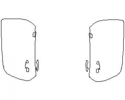 2021 MERCEDES AMG GT ROADSTER DOORS