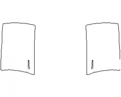 2021 TESLA MODEL Y DOORS FRONT