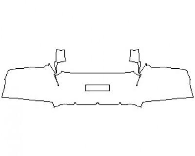 2022 FERRARI 812 GTS REAR BUMPER KIT