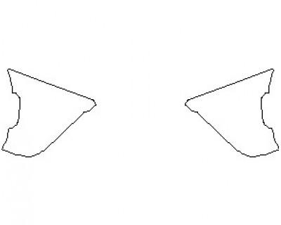 2022 FERRARI 812 GTS REAR BUMPER KIT ENDS