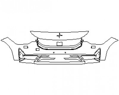 2022 POLESTAR 2 BUMPER KIT WITH WASHERS