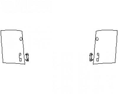 2022 POLESTAR 2 FRONT DOORS