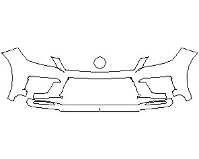 2021 MERCEDES ML CLASS 63 AMG BUMPER KIT