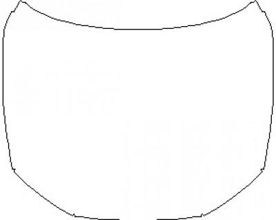2021 AUDI RS7 FULL HOOD KIT (WRAPPED EDGES)
